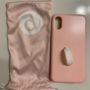 Blush X/XS IPhone Loopy case